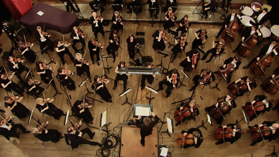 filming the-orchestra-classical-music-topview